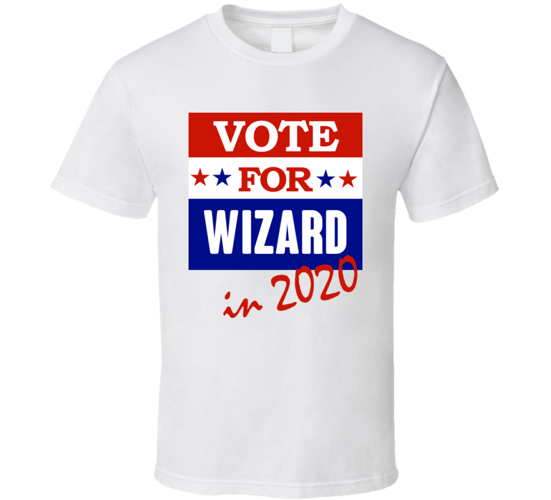 Wizard Election 2020 Comics Super Hero Villain T Shirt