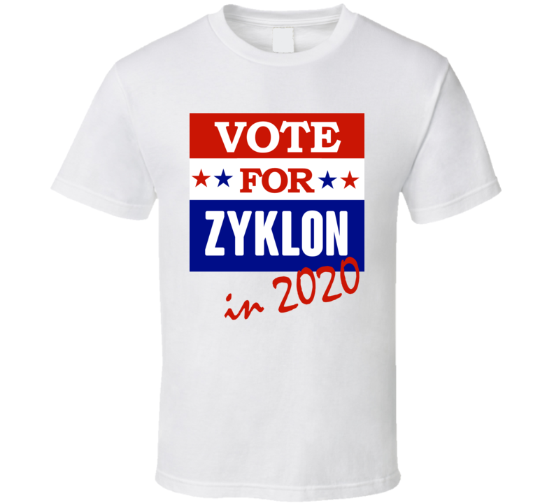 Zyklon Election 2020 Comics Super Hero Villain T Shirt