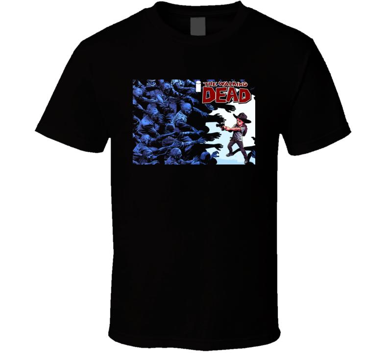 The Walking Dead Horror Zombie Comic T Shirt