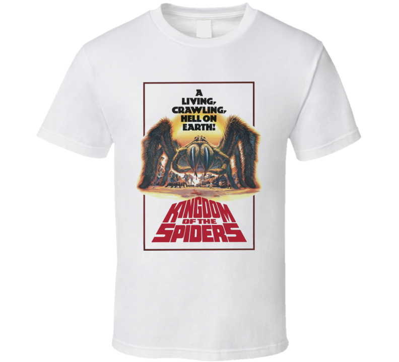 Kingdom of the Spiders Cult Horror Movie T Shirt