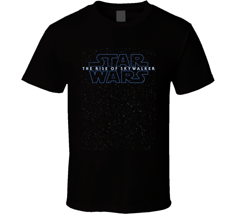 Star Wars Rise Of Skywalker Logo Starfield Luke Rey Kylo T Shirt