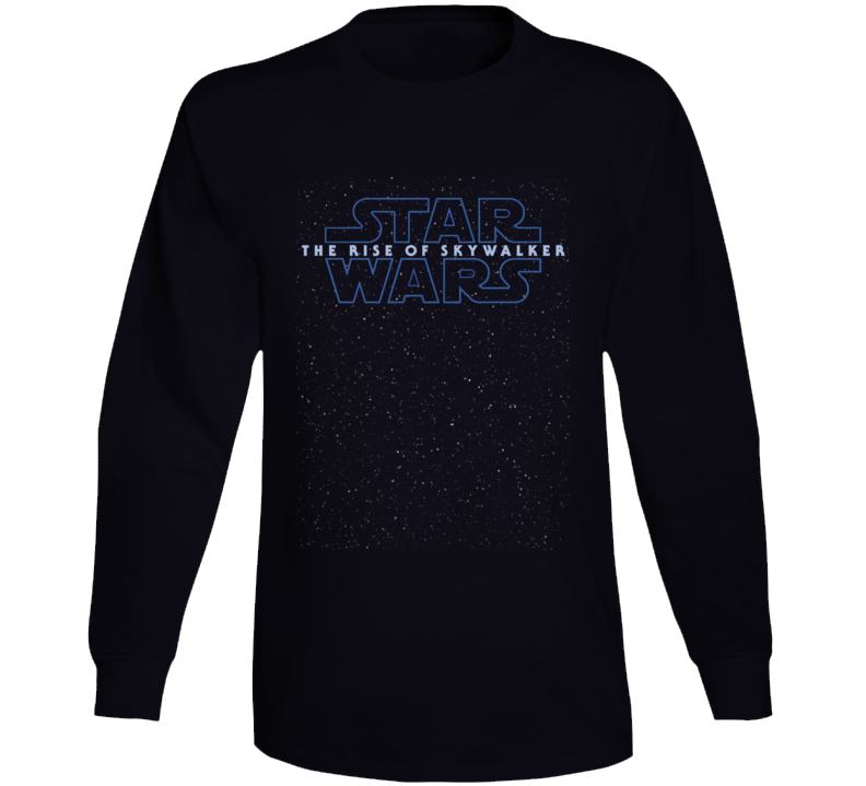 Star Wars Rise Of Skywalker Logo Starfield Luke Rey Long Sleeve Long Sleeve