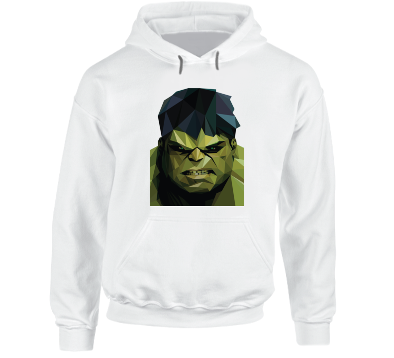 Incredible Hulk Comic Marvel Movie Avengers Geometrics Hoodie