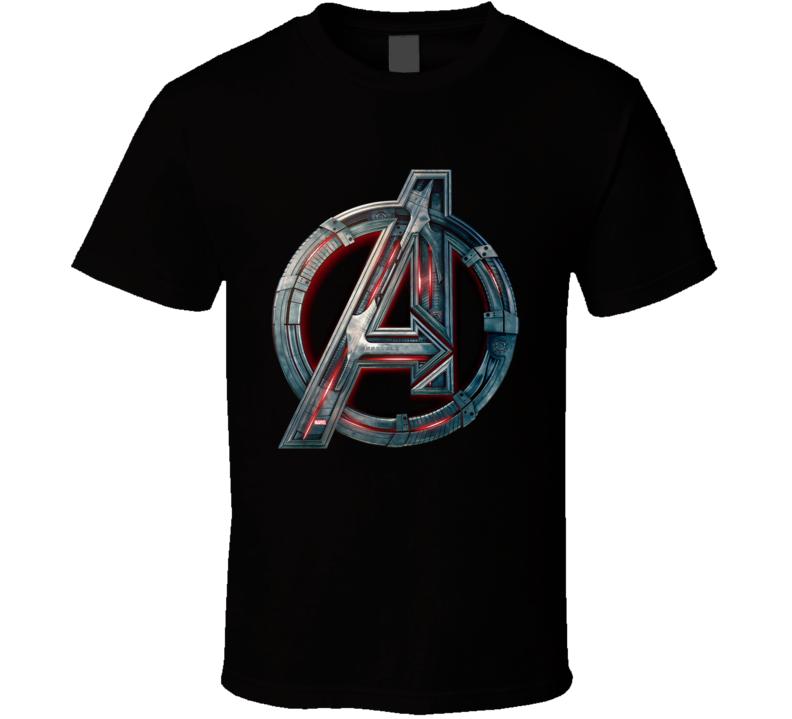 Avengers Symbol Logo Ultron Marvel Movie Assemble T Shirt