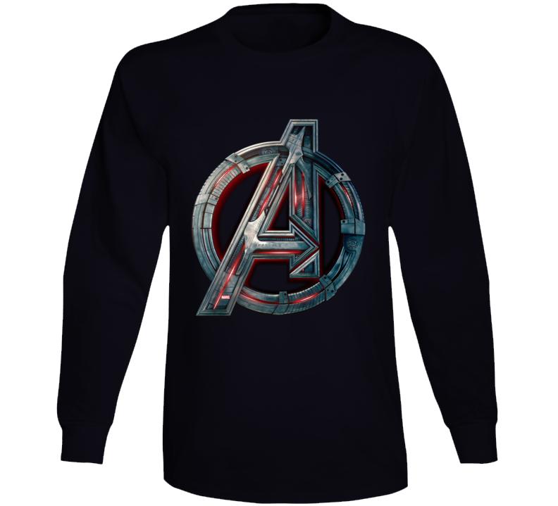 Avengers Symbol Logo Ultron Assemble Long Sleeve Long Sleeve