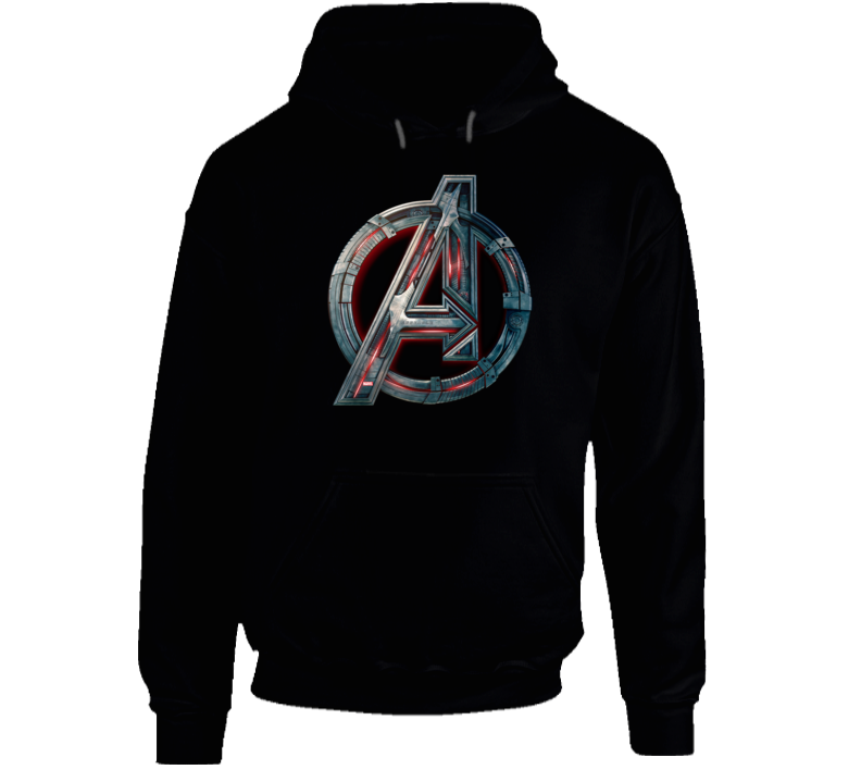 Avengers Symbol Logo Ultron Marvel Movie Assemble Hoodie