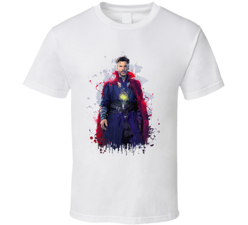 Doctor Strange Sorcerer Supreme Art Marvel Movie T Shirt