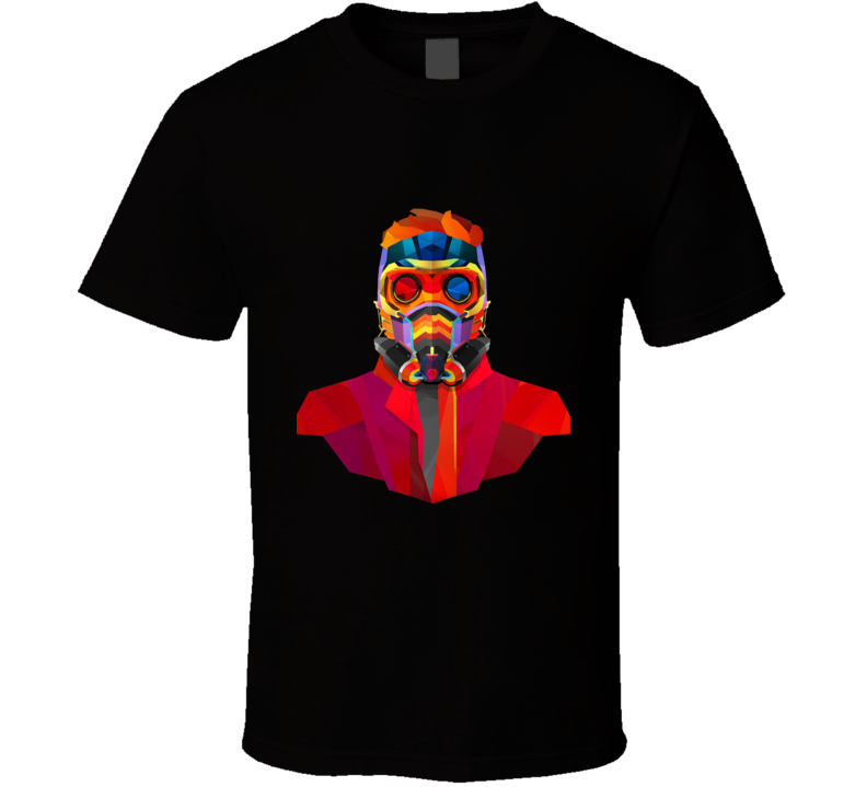 Star Lord Geometrics Guardians Galaxy Movie Comics T Shirt