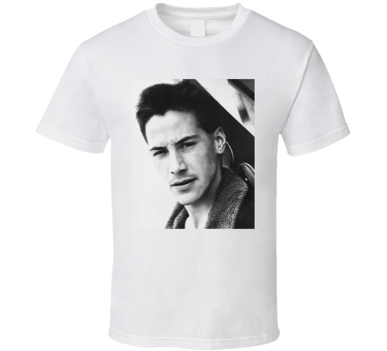 Keanu Reeves Movie Actor Handsome Neo Ted White T Shirt