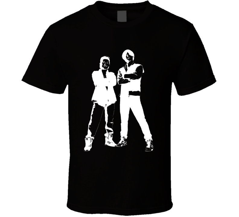 Bill And Teds Excellent Adventure White Stencil Keanu Reeves T Shirt