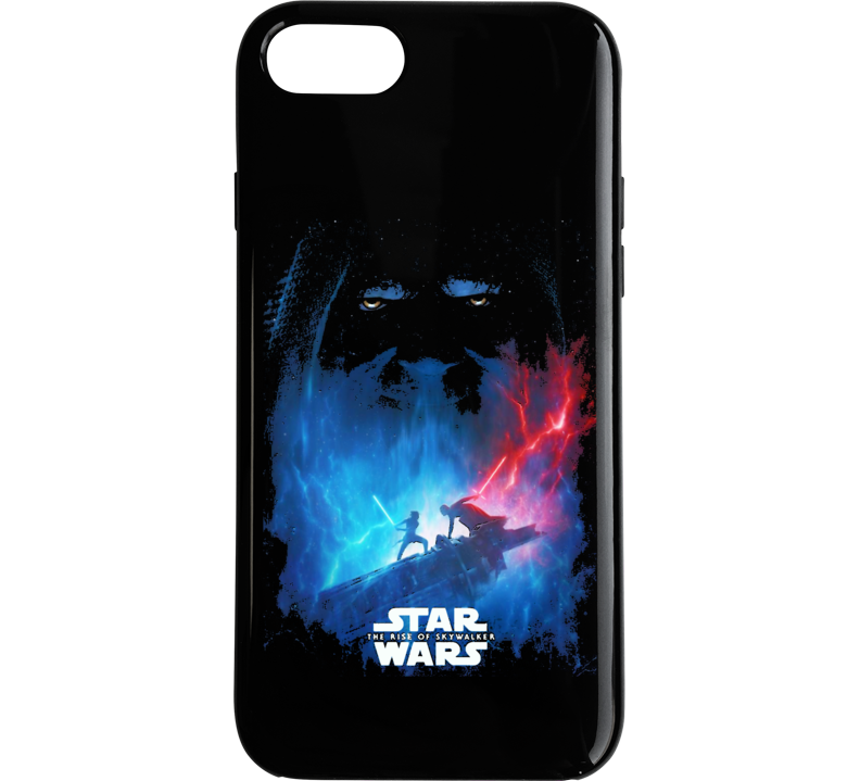 Star Wars Rise Of Skywalker Movie Poster Art Renditon Black Phone Case