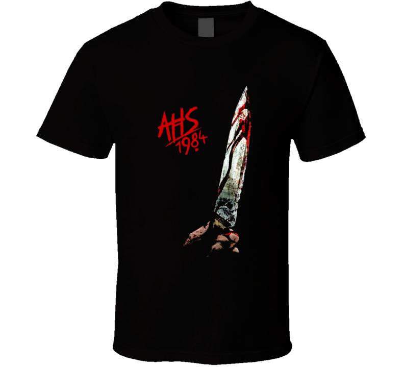 Ahs 1984 American Horror Story Cult Tv Show Black T Shirt
