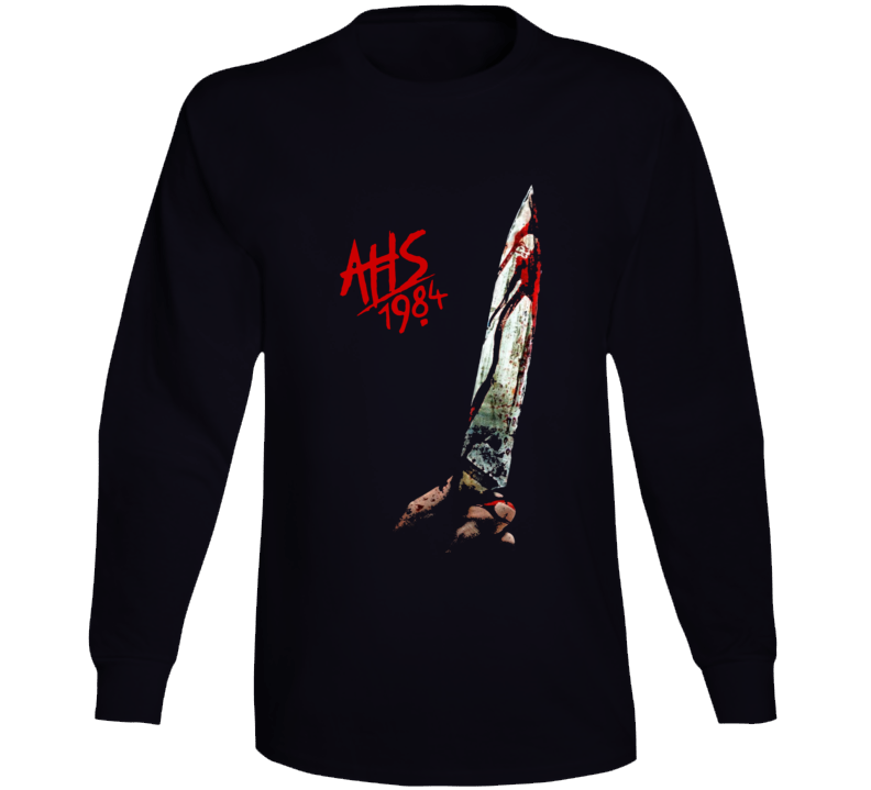 Ahs 1984 American Horror Story Cult Tv Show Black Long Sleeve