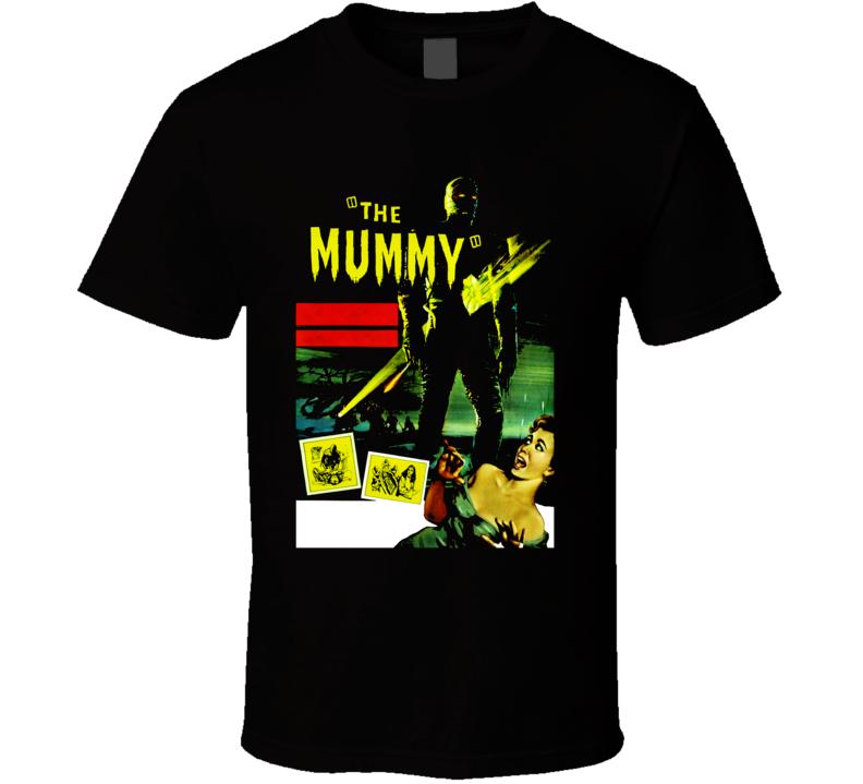 The Mummy Hammer Horror Movie T Shirt