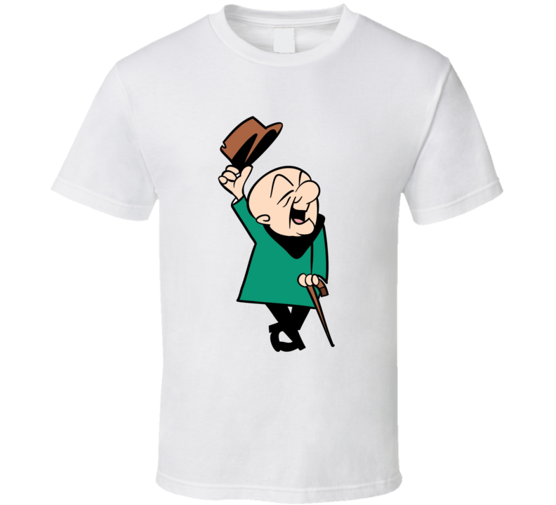 Classic Retro Cartoon Cranky Man T Shirt