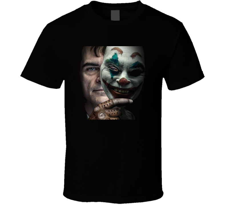 Joker Movie Joaquin Phoenix Comics Super Villain Black T Shirt