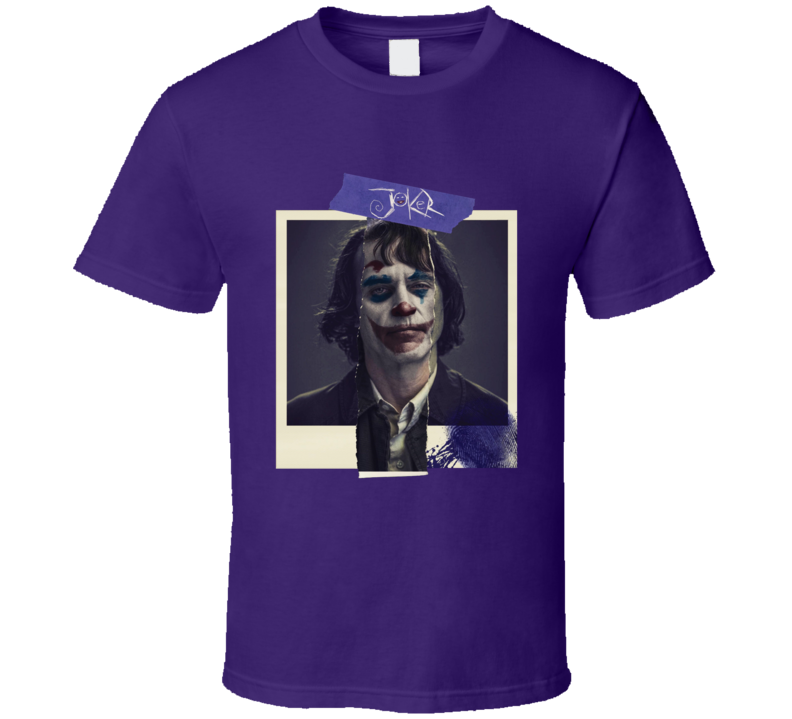 Joker Movie Joaquin Phoenix Comics Super Villain Photo T Shirt