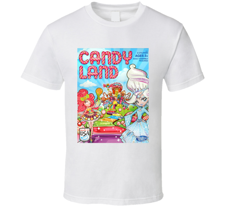 Candy Land Kids Board Game Classic Kids Fun T Shirt