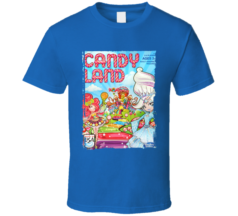 Candy Land Kids Board Game Classic Kids Fun Aged T Shirt