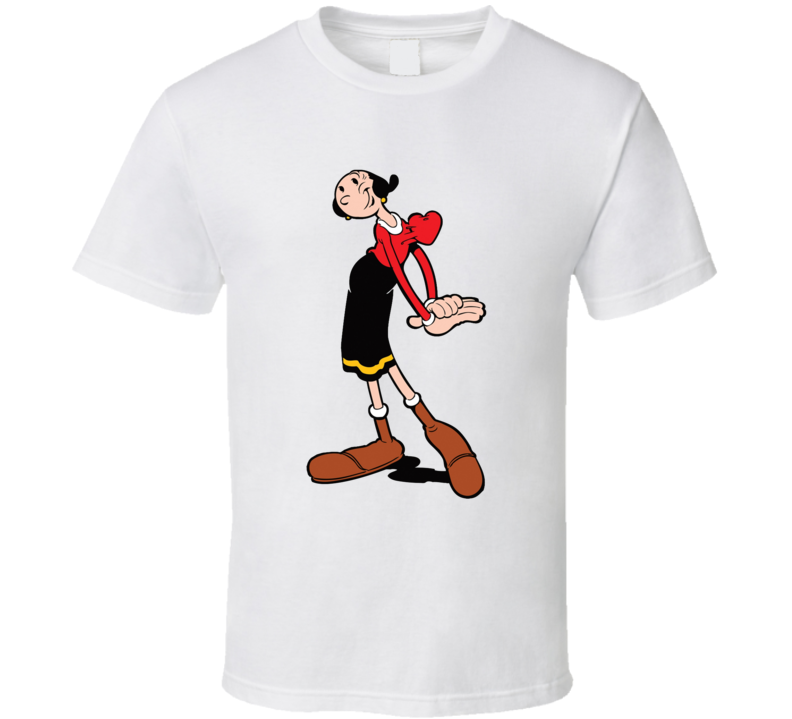 Olive Oyl Popeye Comics Cartoon T Shirt