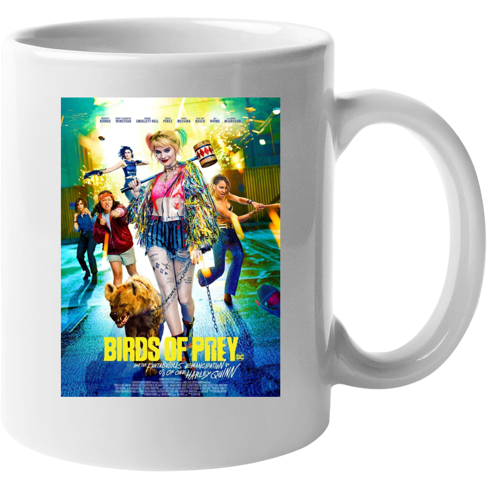 Birds Of Prey Movie Poster Harley Quinn Mug