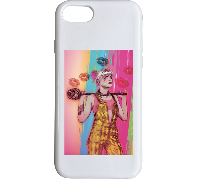 Birds Of Prey Movie Harley Quinn Art Poster Phone Case