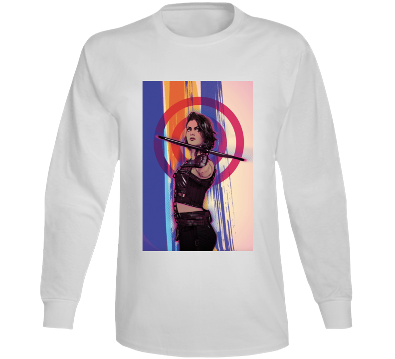 Birds Of Prey Movie Harley Quinn Huntress Art Poster Long Sleeve
