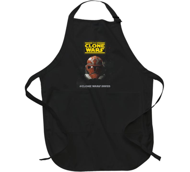 Star Wars Clone Wars Final Season 7 Trooper Helmet Apron