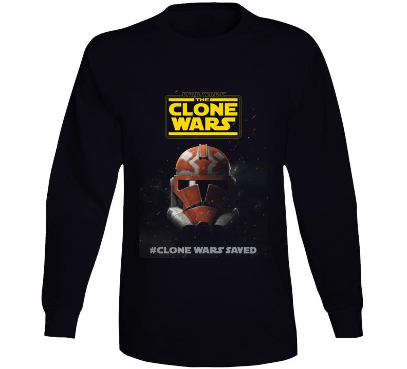 Star Wars Clone Wars Final Season 7 Trooper Helmet Long Sleeve