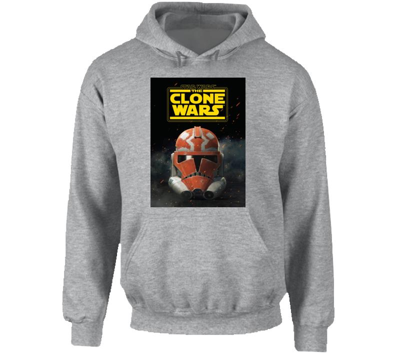 Star Wars Clone Wars Trooper Helmet Final Season Anakin Hoodie