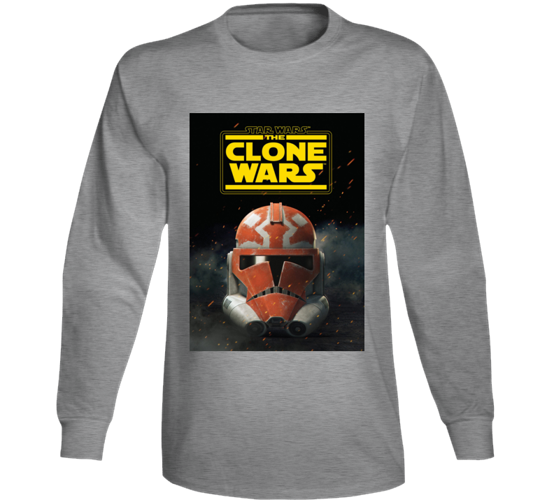 Star Wars Clone Wars Trooper Helmet Final Season Anakin Long Sleeve