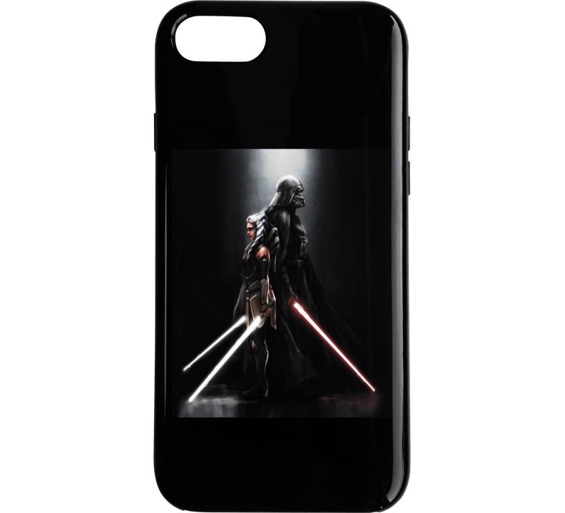 Star Wars Darth Vader Ahsoka Tano Anakin Clone Wars Rebels Phone Case