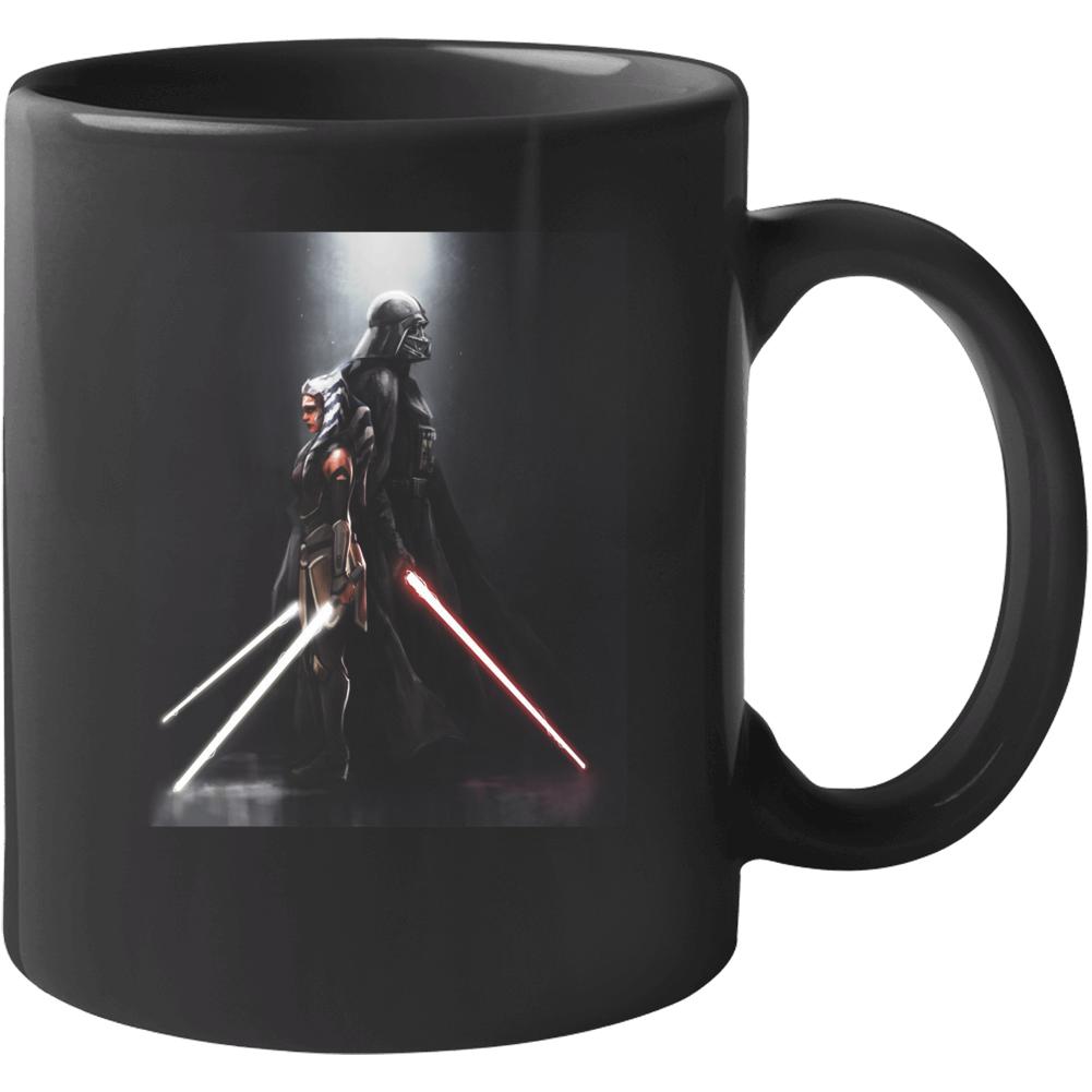 Star Wars Darth Vader Ahsoka Tano Anakin Clone Wars Rebels Mug