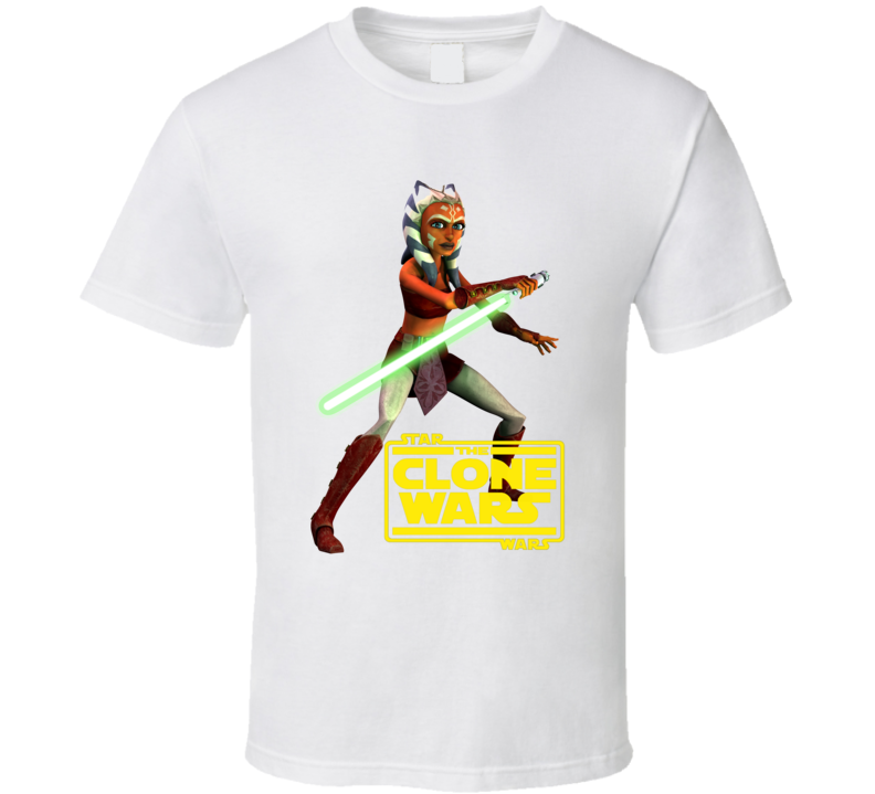 Star Wars Ahsoka Tano Clone Wars Rebels Jedi T Shirt