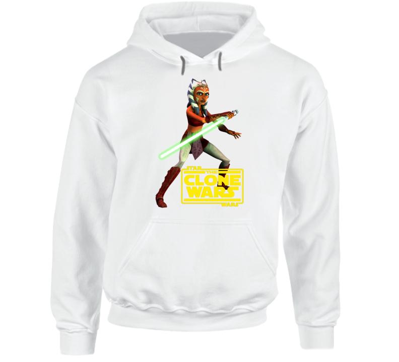 Star Wars Ahsoka Tano Clone Wars Rebels Jedi Hoodie