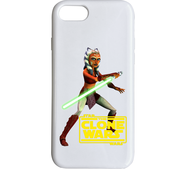 Star Wars Ahsoka Tano Clone Wars Rebels Jedi Phone Case