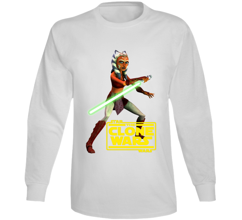 Star Wars Ahsoka Tano Clone Wars Rebels Jedi Long Sleeve