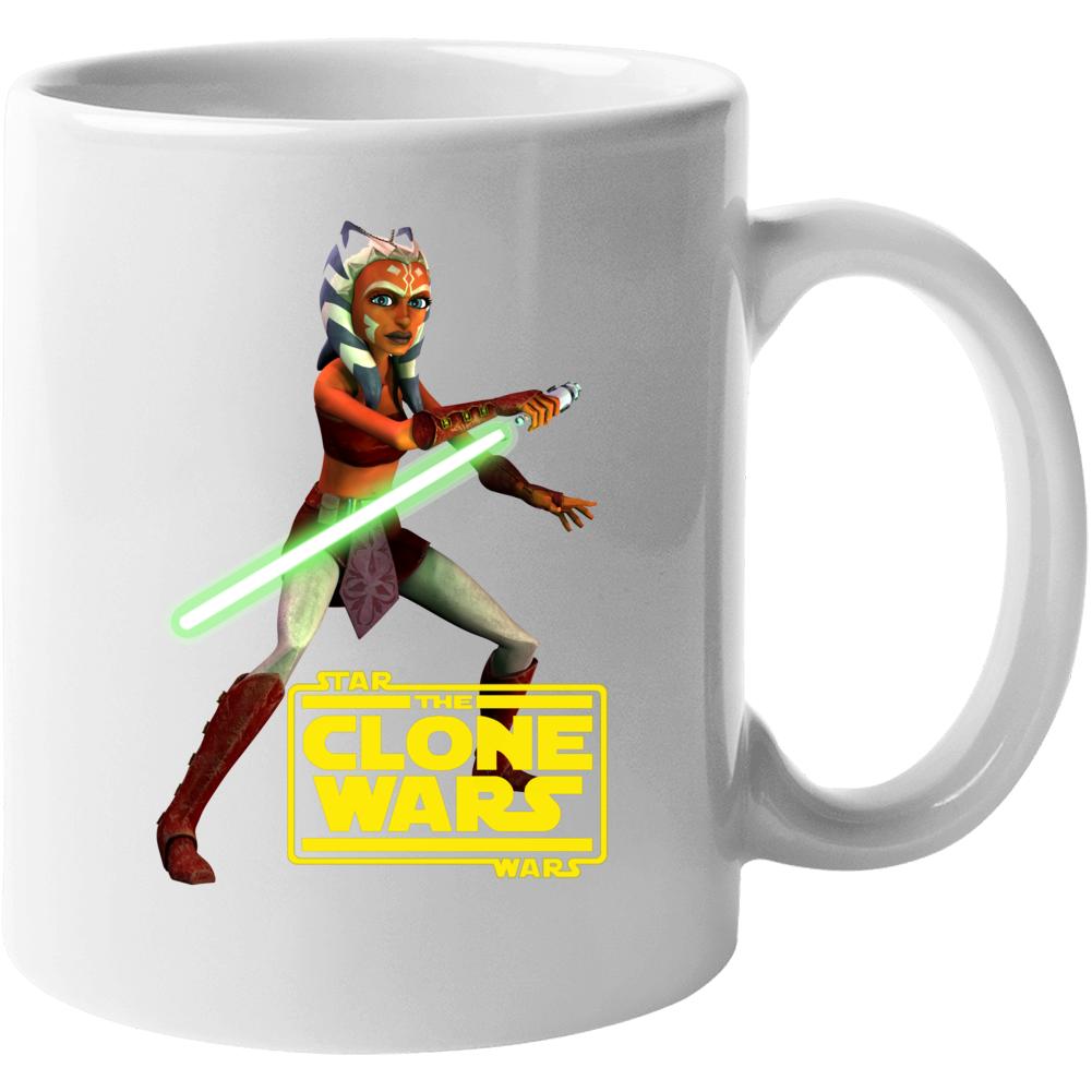 Star Wars Ahsoka Tano Clone Wars Rebels Jedi Mug
