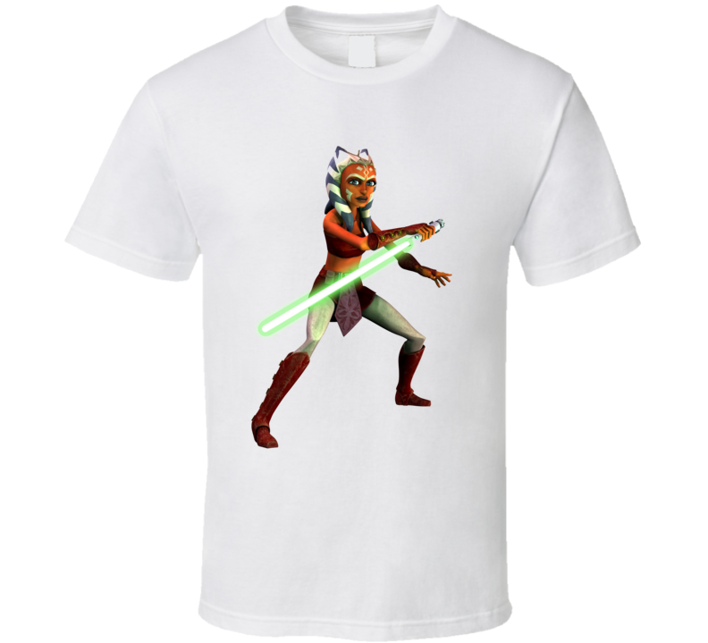 Star Wars Ahsoka Tano Jedi Clone Wars Rebels T Shirt