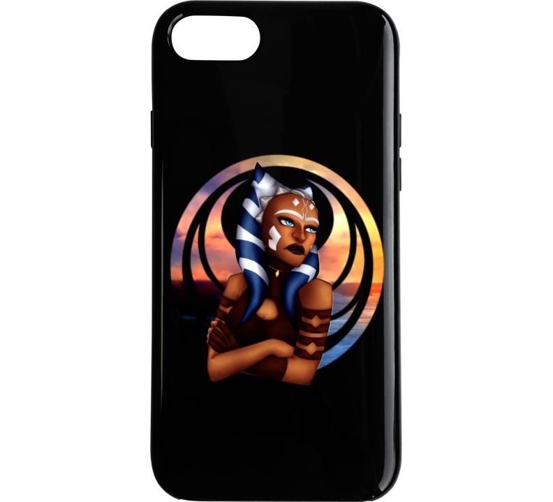 Star Wars Ahsoka Tano Clone Wars Rebels Jedi Symbol Phone Case