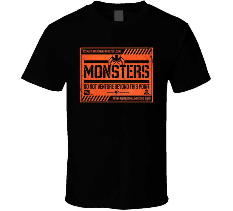 Monsters Sci Fi Horror Movie T Shirt
