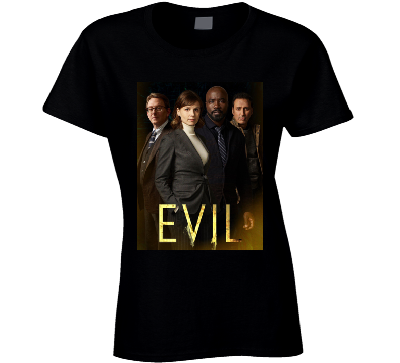 Evil Tv Show Drama Kristen Bouchard David Acosta Leland Demons Ladies T Shirt