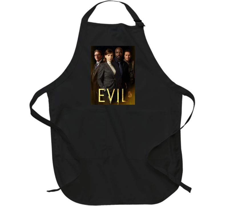 Evil Tv Show Drama Kristen Bouchard David Acosta Leland Demons Apron