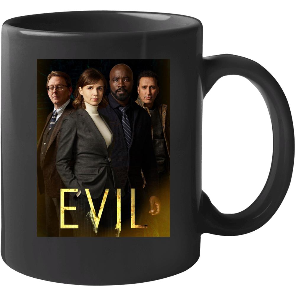 Evil Tv Show Drama Kristen Bouchard David Acosta Leland Demons Mug
