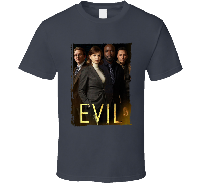 Evil Tv Show Drama Demons Kristen Bouchard David Acosta Leland T Shirt