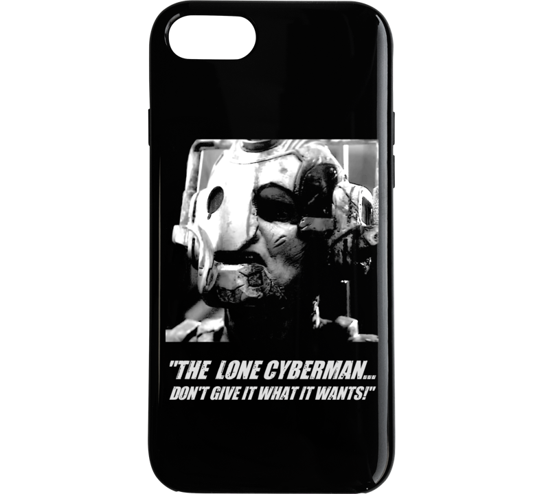 Doctor Who Lone Cyberman Captain Jack Quote Tv Show Phone Case
