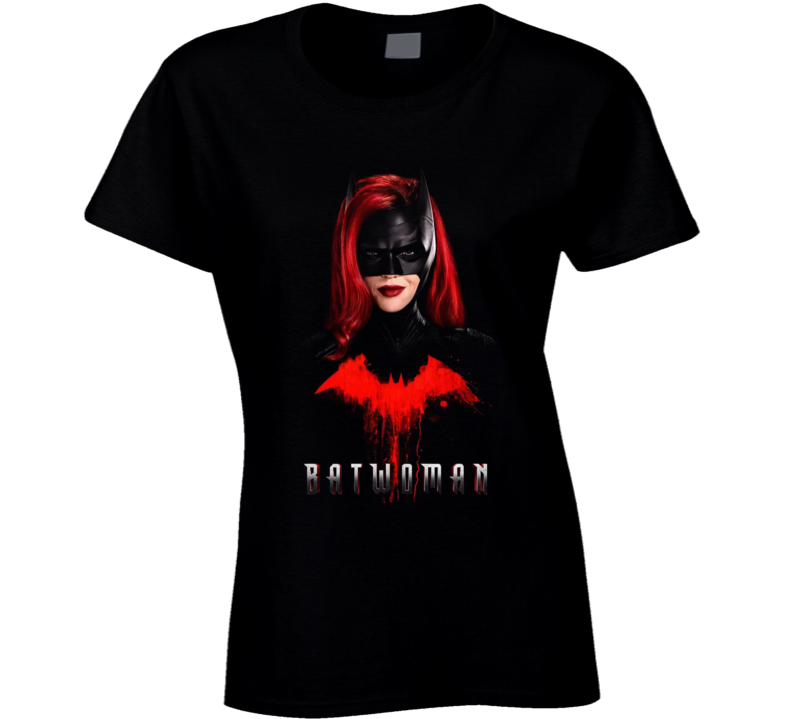 Batwoman Tv Show Kate Kane Ruby Rose Comic Book Gotham Ladies T Shirt