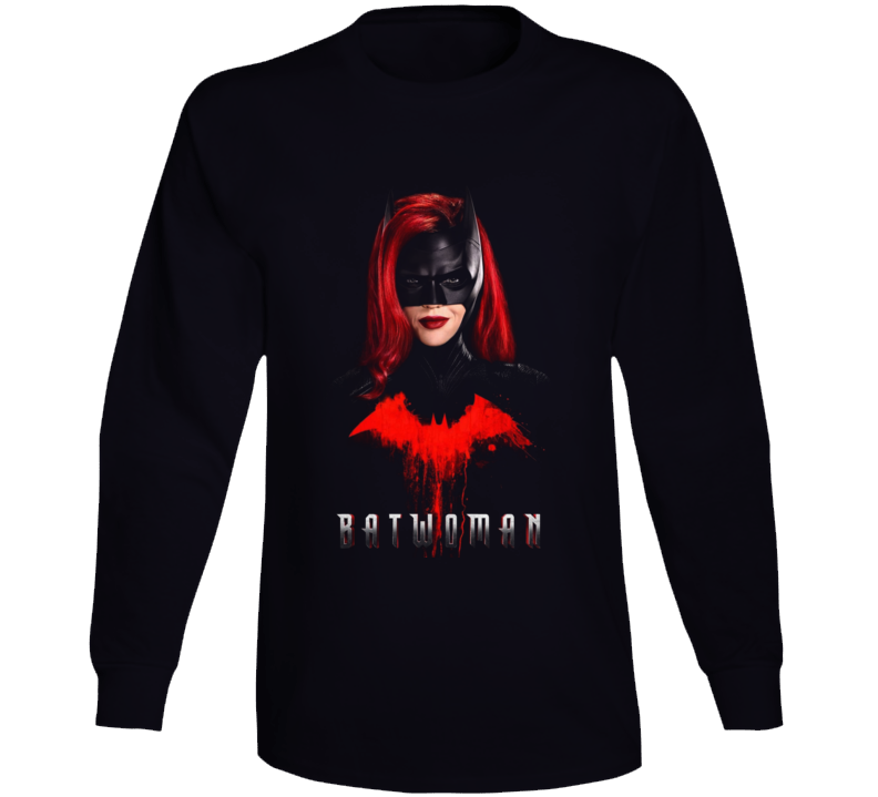 Batwoman Tv Show Kate Kane Ruby Rose Comic Book Gotham Long Sleeve