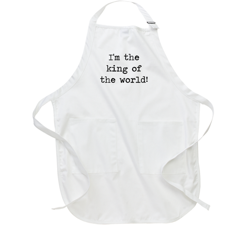 Titanic Classic Movie King Of The World Quote Apron
