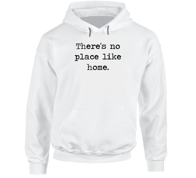 Wizard Of Oz Classic Dorothy Movie Quote Baum Hoodie